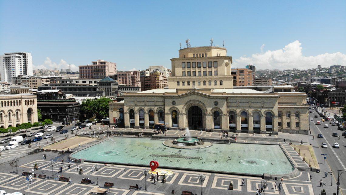 [Панорама 360°] Ереван, Площадь Республики