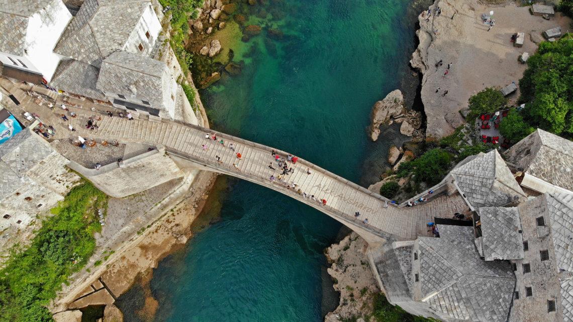 [Панорама 360°] Мостар. Старый Мост